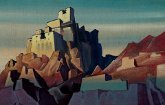 Замок в Ладакхе. Репродукция В2 (плакат).
