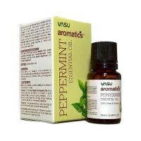 Купить Эфирное масло Перечной мяты VASU Peppermint Essential Oil, 10 мл в интернет-магазине AgniBooks.ru