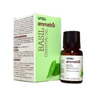 Эфирное масло Базилика VASU Basil Essential Oil, 10 мл.