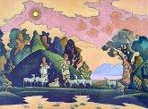 Кришна-Лель (Святой пастырь). 1932 (магнит).
