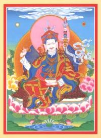 Открытка Падмасамбхава (12 х 16 см).