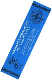 Благовоние Gangchen Himalayan Healing Incense, 20 палочек по 13,5 см.