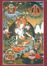 Открытка Авалокитешвара Касарпани (14,5 х 20,0 см).