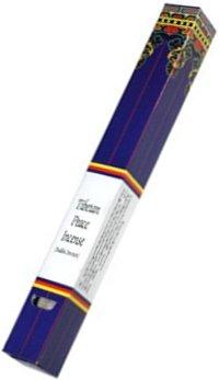 Благовоние Tibetan Peace Incense (Тибетский мир), 40 палочек по 21,5 см.