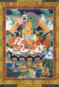 Плакат Намсарай — божество богатства (34 х 21,5 см).