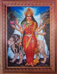 Плакат Дурга (29 х 40 см).