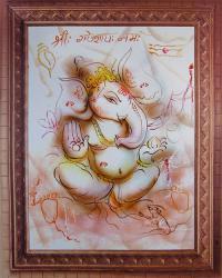 Плакат Ганеша (29 х 36 см).