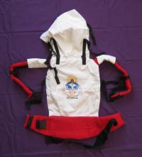 Эргономичный рюкзачок для переноски детей с Ганешей.