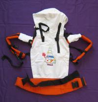 Эргономичный рюкзачок для переноски детей с Шивой.