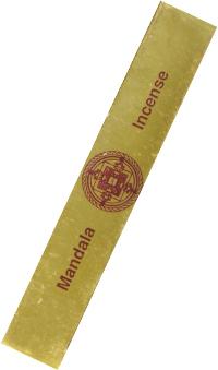 Купить Благовоние Mandala Incense (Gold), 45 палочек по 16 см в интернет-магазине Ариаварта