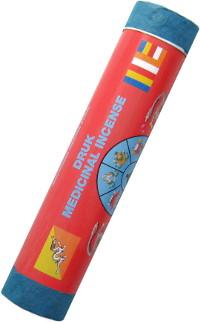 Благовоние Druk Medicinal Incense. Fortune (Удача), 21 палочка по 19 см.