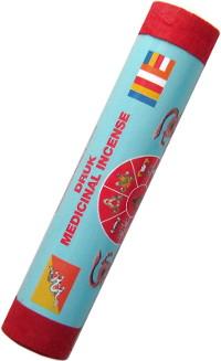 Благовоние Druk Medicinal Incense. Happiness (Счастье), 21 палочка по 19 см.