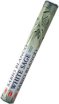 Благовоние White Sage (Белый шалфей), 20 палочек по 24 см.