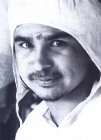 Открытка Шри Хайдакхан Вале Баба (Бабаджи) (10,5 x 14,8 см).