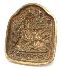 Форма для изготовления ца-ца Гуру Падмасамбхава, 8,3 x 10 см.