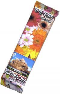 Купить Благовоние Yogi Flora (Йоги Флора), 50 палочек по 23 см в интернет-магазине Ариаварта