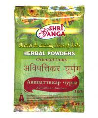 Купить Авипаттикар чурна (Avipattikar churnam) 100 г в интернет-магазине Ариаварта