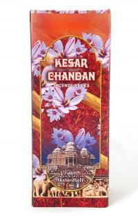 Благовоние Kesar Chandan (Шафран с сандалом), 21 см.