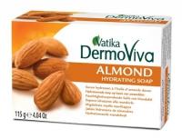 """Мыло """"Vatika DermoViva Naturals Almond"""", 115 г."""