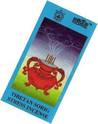 Благовоние Sorig Stress Incense, 20 палочек по 12 см.
