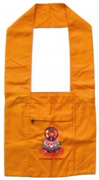Сумка монаха Lithang Buddhist University (оранжевая).