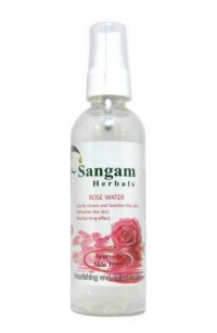 Розовая вода Sangam Herbals, 100 мл.