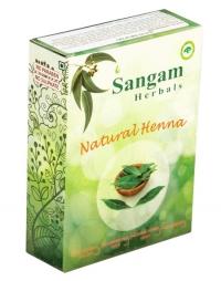 Натуральная хна Sangam Herbals.