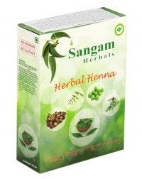 Хна с добавками трав Sangam Herbals (100 г).