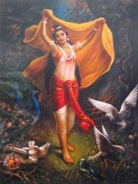 Плакат Шакунтала (30 x 40 см).