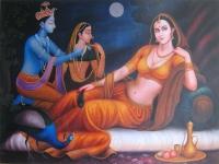 Плакат Индийская живопись (30 x 40 см).