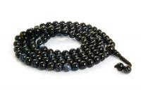 Купить Четки из черного агата, 108 бусин, 8 мм в интернет-магазине Ариаварта