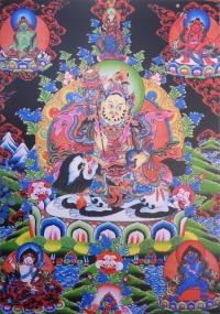 Плакат Вайшравана (30 x 40 см).