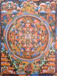 Плакат Мандала Тысячерукого Авалокитешвары (30 x 40 см).