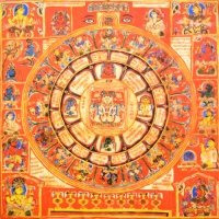 Плакат Сиддха-чакра (30 х 30 см).