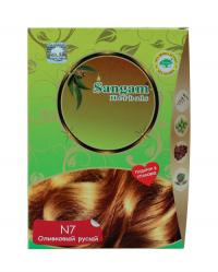 Краска для волос Оливковый русый (N7, Светло-коричневый).