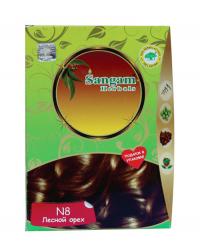 Краска для волос Лесной орех (N8, Золотисто-коричневый).