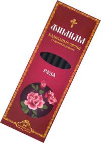 """Кадильные свечи Фимиам """"Роза"""", 7 свечей 11,5 см."""