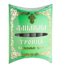 """Кадильные свечи Фимиам малые """"Троица"""", 7 свечей 4,5 см."""