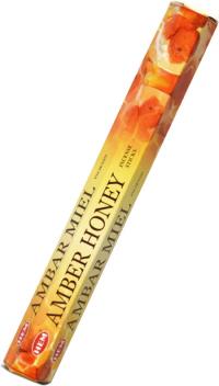 Благовоние Amber Honey (Янтарь-Мед), 20 палочек по 24 см.