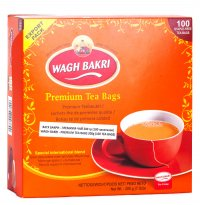 Чай Вагх Бакри — Премиум (Wagh Bakri — Premium Tea) 200 г (100 пакетиков).