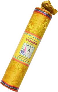 Благовоние Virgo Zodiac Incense (Дева), 37 палочек по 17,5 см.