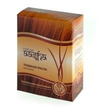 Травяная краска для волос Herbals AASHA (Золотисто-коричневая), 6 x 10 г.