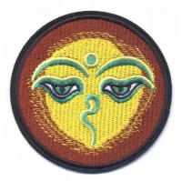 """Нашивка """"Глаза Будды"""", 7,7 см."""