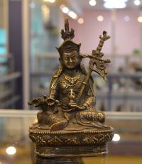 Статуэтка Падмасамбхавы, 14 см.