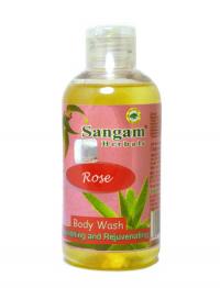 Гель для душа Sangam Herbals (Rose), 200 мл.