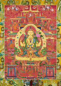 Плакат Авалокитешвара и Будды шести миров, 24,8 х 35 см.