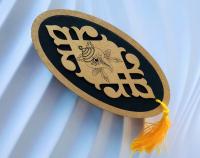 Шкатулка с изображением Белой раковины (черная).