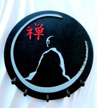 Купить Ключница Дзен (диаметр 21 см) в интернет-магазине Ариаварта