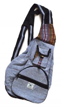 Рюкзак-трансформер, синий.