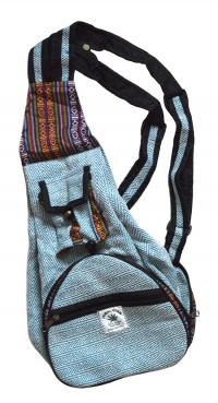 Рюкзак-трансформер, голубой.